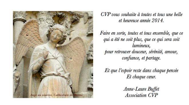 CARTE DE VOEUX CVP 2013